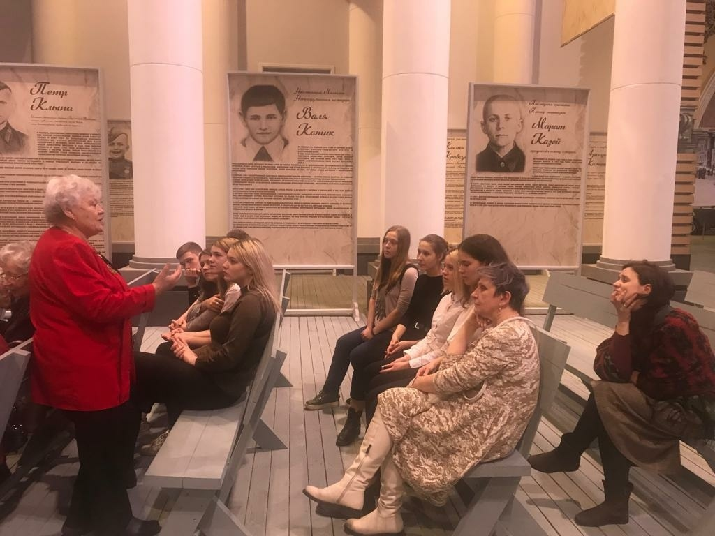 Экскурсия для школьников Калининского района Санкт-Петербурга